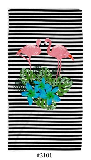 Кърпа Flamingo Flowers