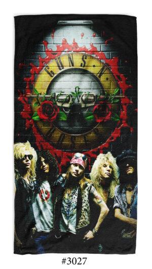 Хавлиена кърпа music fans Guns N' Rosses