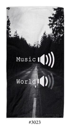 """Хавлиена Кърпа """"Music > World"""" Музика"""