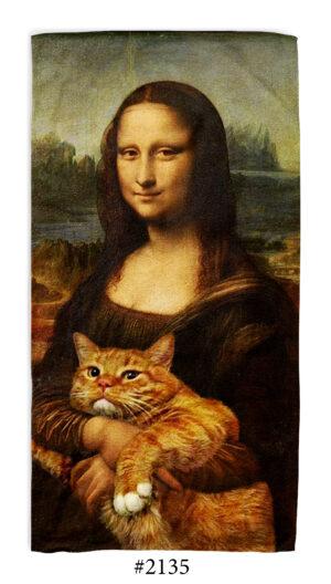 """Хавлиена Кърпа """"Mona Lisa"""" Хавлия"""