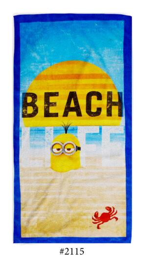 Хавлиена Кърпа Minion Beach
