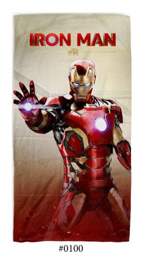 """Хавлиена Кърпа """"Iron Man"""""""