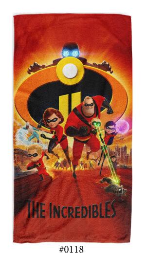"""Хавлиена Кърпа """"The Incredibles"""""""