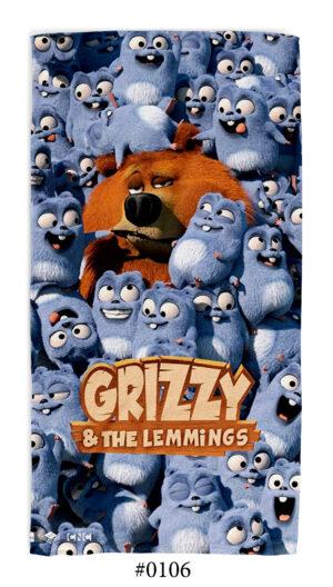 "Хавлиена Кърпа ""Grizzy and The Lemmings"""