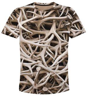 ловджийска тениска с рога