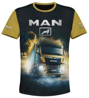t-shirt man truck