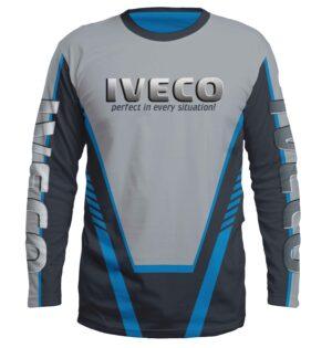 """Ватирана Блуза """"IVECO"""" T018"""
