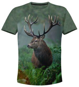 t-shirt hunting deer