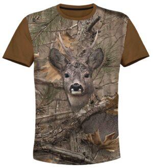 тениска елен camouflage