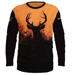 ловна блуза с елен