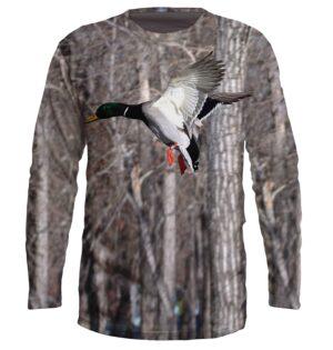"Ватирана Блуза ""Duck Hunting"" F018"