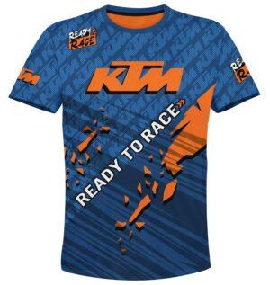 """Мото тениска """"KTM"""" M001"""