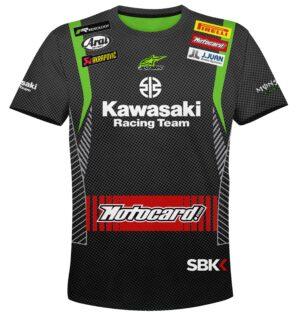"Мото тениска ""Kawasaki"" M002"