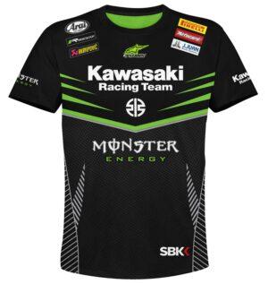 "Мото тениска ""Kawasaki"" M003"