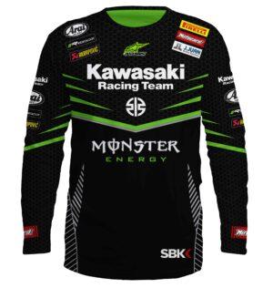 """Мото Блуза """"Kawasaki"""" M003"""