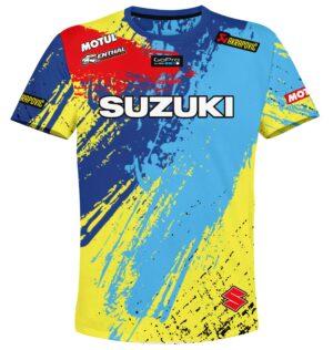 """Мото тениска """"Suzuki"""" M007"""