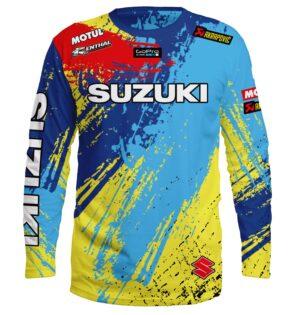 "Мото Блуза ""Suzuki"" M007"