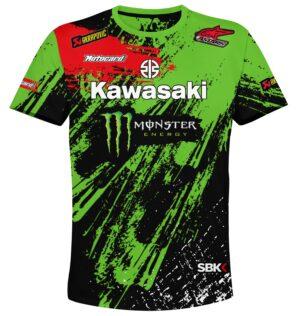 "Мото тениска ""Kawasaki"" M011"