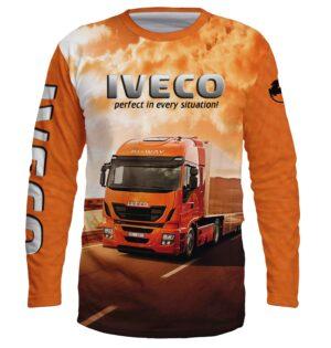 """Ватирана Блуза """"IVECO"""" T019"""
