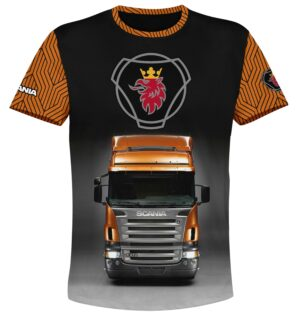 """Тениска """"SCANIA"""" T025"""
