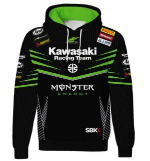 "Ватиран Суитшърт ""Kawasaki"" M003"