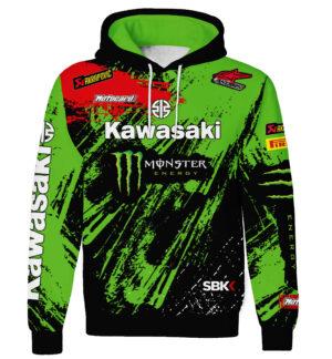 "Ватиран Суитшърт ""Kawasaki"" M011"